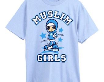 Muslimah shirt, 5,6,7 year olds, muslim shirt, islamic shirt, hijabi shirt, hijab shirt, islam shirt, islamic clothes, muslimah clothes