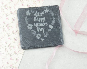 Happy Mothers Day Personalised Coaster