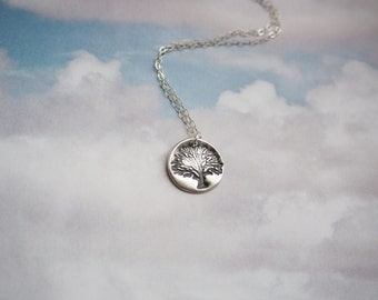 Tree of Life Necklace, Sterling Silver Tree of Life Necklace, Sterling Silver Necklace