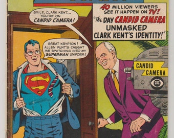 Action Comics; Vol 1, 345 Silver Age Comic Book.  FN- (5.5) January 1967.  DC Comics