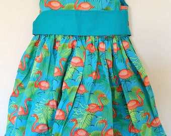 Flamingo Party Dress