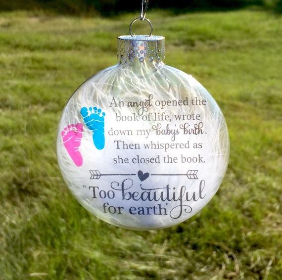 Infant Loss Ornament Memorial Baby Ornament Pregnancy Loss