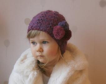 KNITTING PATTERN beanie hat Kalervo (toddler, child, teen, woman, man sizes)