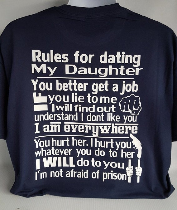 Dad daughter dating rules