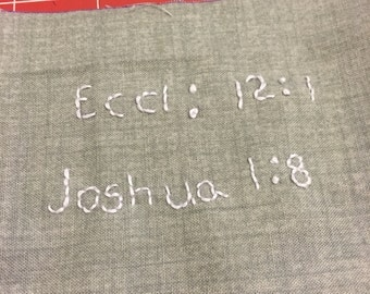 Add On Hand Embroidery Personalization