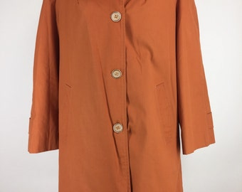 Vintage Mod Swinging 60s Rain Coat