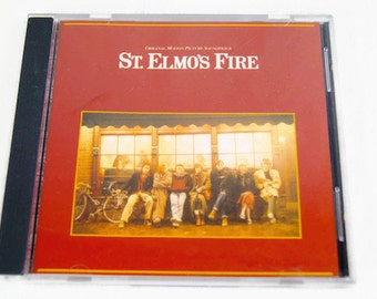 CD St. Elmo's Fire Original Motion Picture Soundtrack Love Theme - Shake Down - Saved My Life - Stressed Out - Georgetown