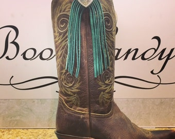 Boot Candy Toppers    Turquoise Waterfall