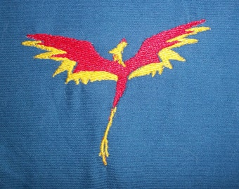 Philomena Inspired Phoenix Embroidery File