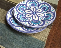Deruta Italy Hand Painted Plates