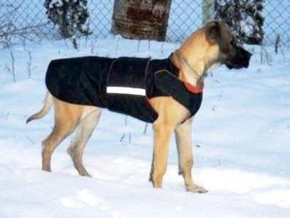 Extra Warm Winter Dog Coat Large Dog Jacket by PepperPetWear