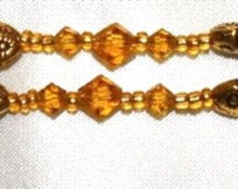 Double Fun Golden Bracelet