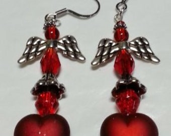 Angel On A Red Heart-Two