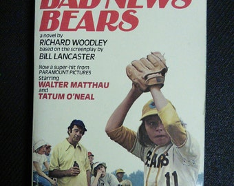 Bad News Bears Vintage Book