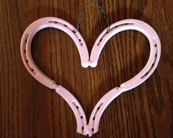 Horseshoe Heart (pink)