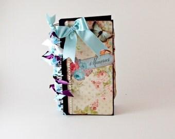 Vintage Scrapbook, Photo Album, Scrapbook, Memory Book, Scrapbook Album, Photo Album Scrapbook, Premade Scrapbook, Mini Album, Memory Book