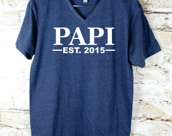 new dad father's day gift, fathers day gift t-shirt, papi shirt, papa gift unique fathers day gift, gifts for men shirt, papi, papi tshirt,
