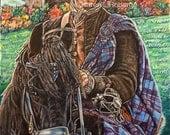 Outlanders, Jamie Fraser limited edition art print.