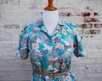Vintage Plus-Sized Dress 1960s