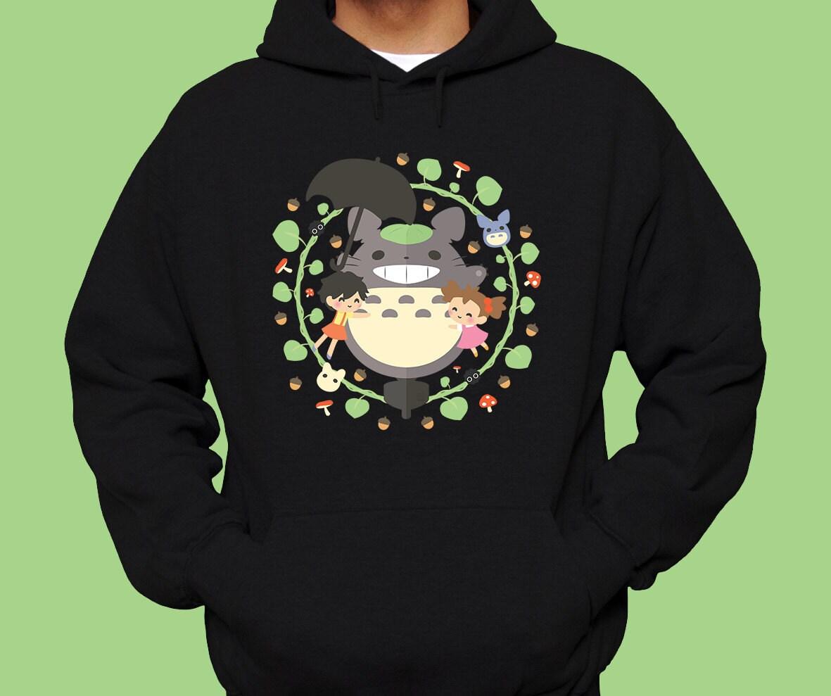 Totoro Hoodie Totoro Shirt Totoro Sweatshirt Totoro Gift