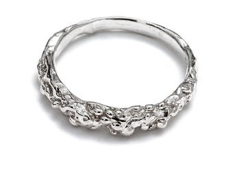 Sterling Silver Ring: Organic Ring II