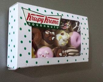 Krispy Kreme Dozen Donuts Fridge Magnet