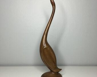 vintage ceramic bird