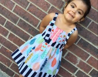 Toddler Girls Dresses, Toddler Girl Clothes, Girls Dresses, Spring Summer, girls sundress, vintage dress, 9 month,12-18 month, 2t, 3t, 4t, 5