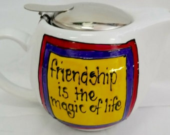 Friendship Teapot