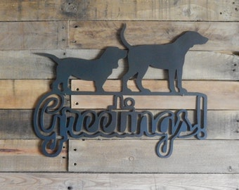 Dogs - Funny Dogs - Dog People Gifts - Greetings Dog Sign