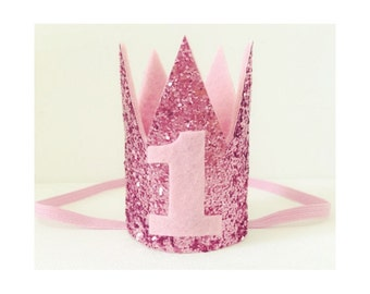 Raspberry Kisses Crown / Cake Smash Crown / Children's Crown / Princess Crown