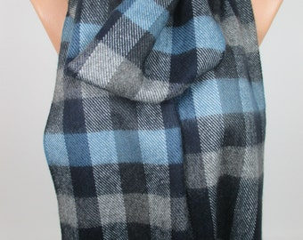 Plaid Scarf Long Scarf Winter Scarf Warm Scarf Cozy Scarf Women Men Fashion Accessories Gift Ideas For Her For Him Christmas Gifts MELSCARF