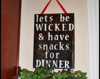 Wall Signs For Home funny kitchen sign | etsy