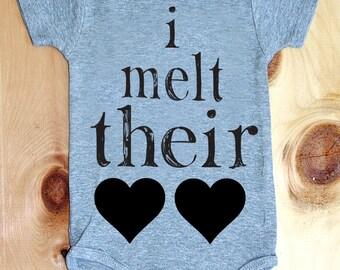 I Melt Their Hearts Onesie