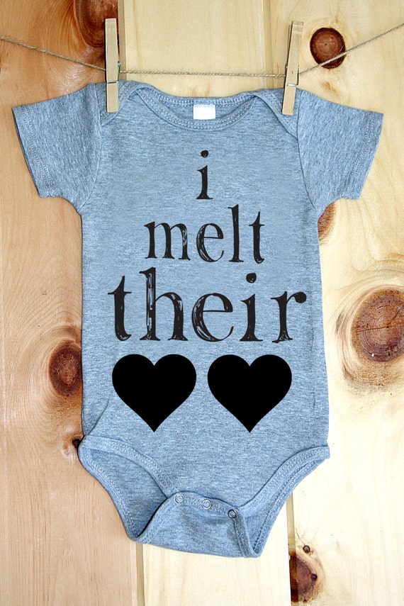 I Melt Their Hearts Onesie
