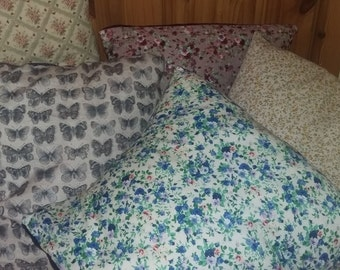 Floral/pattern cushion covers