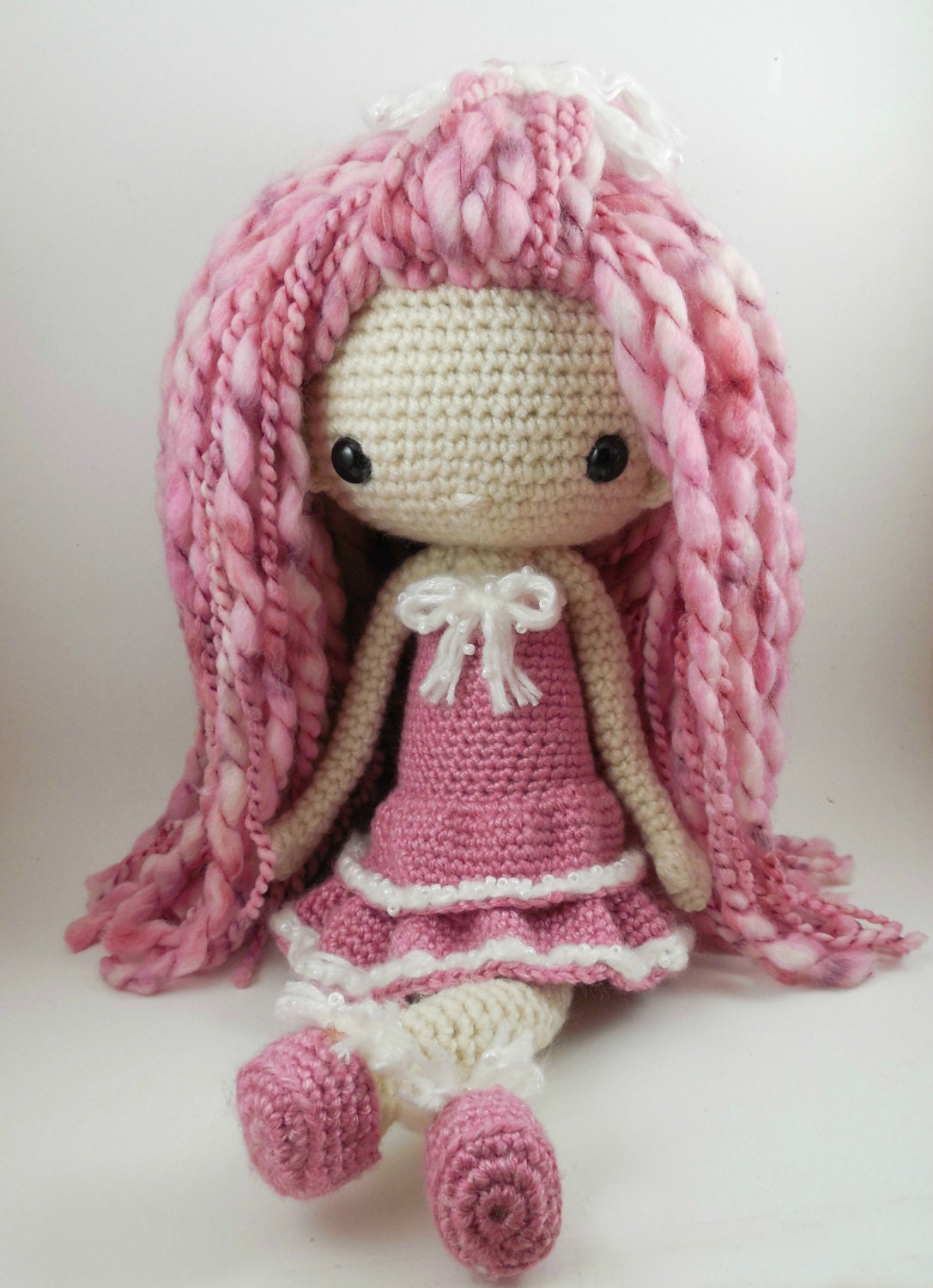 Amigurumi Square Doll : Lupita Amigurumi Doll Crochet Pattern PDF by CarmenRent on ...