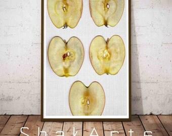 Apple Print, Farmhouse Sign, Fall Decor, Farmhouse Style, Fall Decoration, Nursery Art, Nursery Decor, Farmhouse Decor, Rustic Home Decor