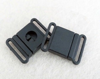"FIVE Safety Breakaway Buckles for 1"" Lanyards, Lanyard Hardware, Supplies, Findings, 1"" safety buckle, 1"" breakaway, Packs of 5"