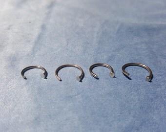 Nose Hoop Rings - Surgical Steel