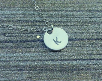 Sterling Silver Initial Necklace **SALE**