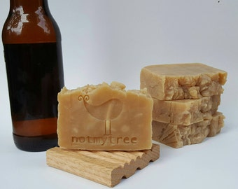 Beer Soap, Simply Suds, Handmade Soap, Vegan Soap, All Natural Soap, No Color Soap, Olive Oil Soap, Beauty Gift, Stocking Stuffer for Him
