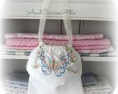 Flower Girl Gift Party Bag  Storage Bag Favor Bag Fabric Bag Drawstring Bag Reusable Gift Bag  Wedding Gift Bag Keepsake Bag