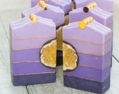 Lavender Honey Handmade Cold Process Aloe Silk Soap