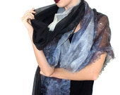 100% Cashmere Moon Scarf