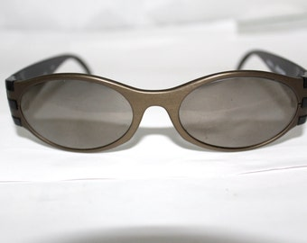 1 Rare ADIDAS  Sunglasses NOS 80s 90s Made in Austria by Masters model A319 Steel Grey
