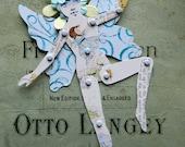 Fairy Paper Doll, Flower Fairy Doll, Fantasy Paper Doll, Fairy Jointed Doll, Winged Paper Doll, Jointed paper Doll, Articulated Paper Doll