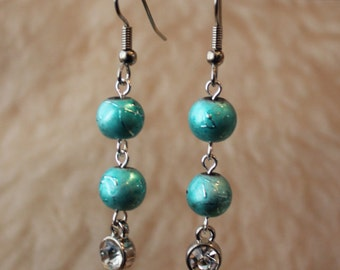 Hypoallergenic Earrings - Frozen Drops - Surgical Steel Earrings, Titanium Earrings, OR Niobium Earrings for Sensitive Ears