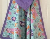 Serene Mermaids Baby Blanket - 100% Cotton