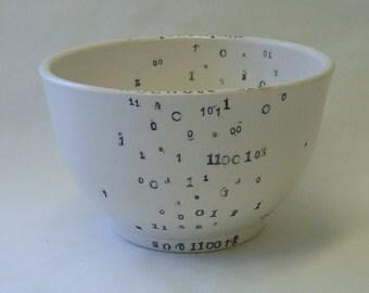 Binary Porcelain Bowl